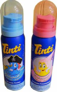 Mousse de bain colorante Tinti